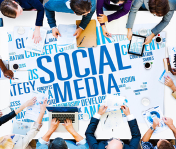 social media table copy